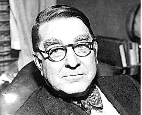 Branch Rickey, owner of the Dodgers